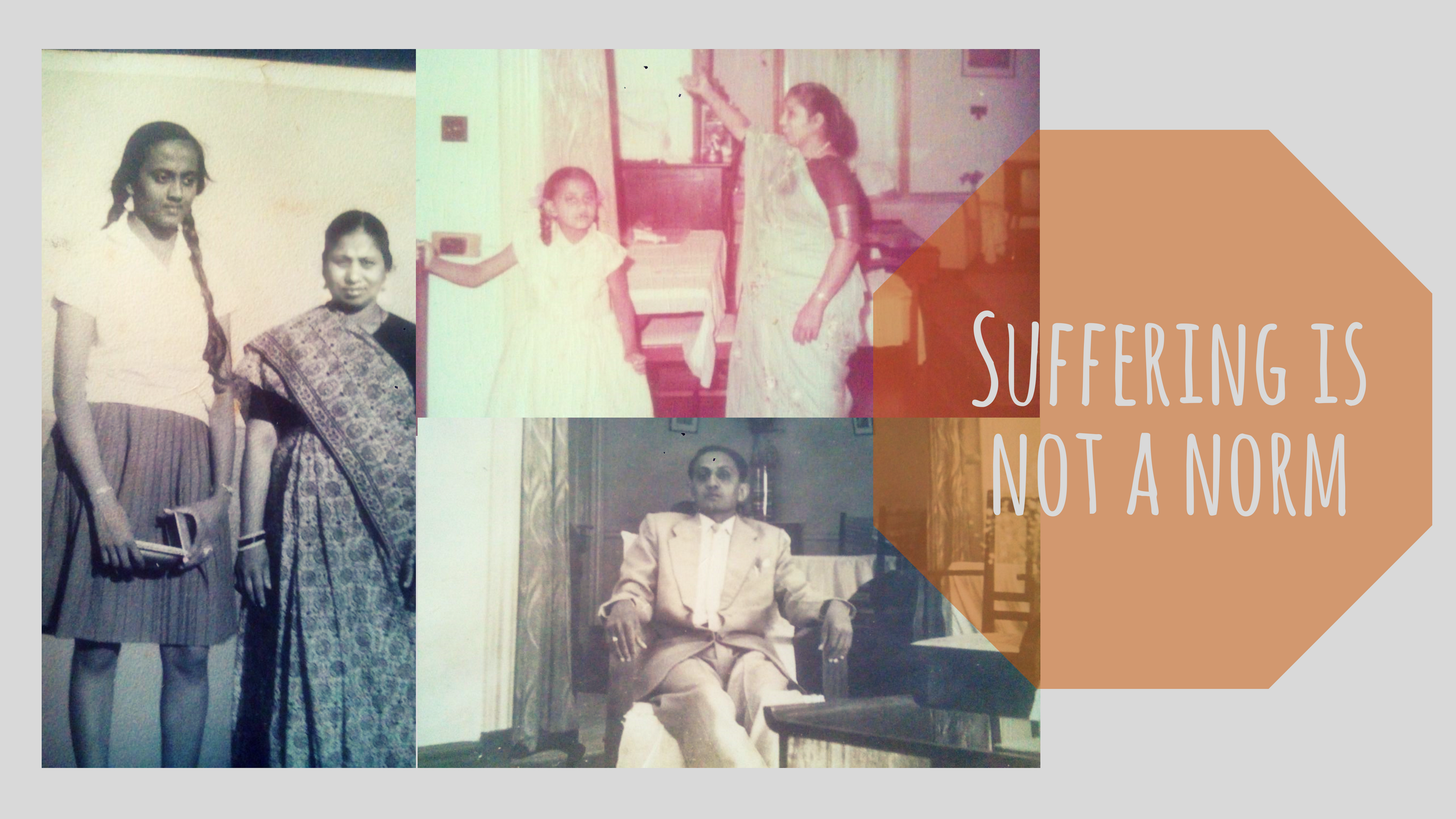 Suffering is not a norm.